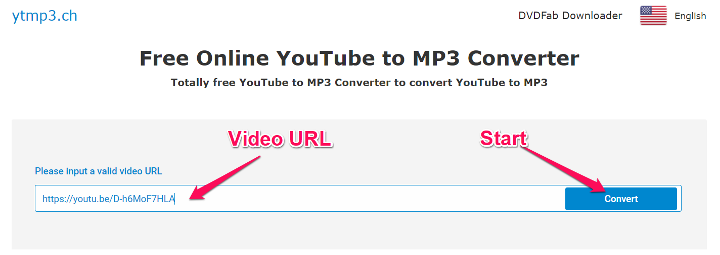 youtube video to mp3 audio converter